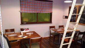 店舗内観(2F)|キッチンラフト