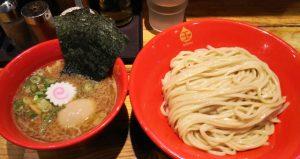 特製豚鶏つけ麺|つけ麺 玉 赤備 川崎駅東口