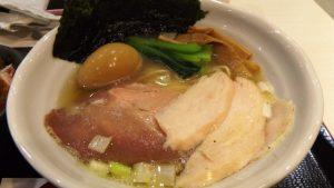 特製鶏だし塩ラーメン|RAMEN火影 produced by 麺処 ほん田
