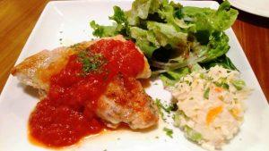 鶏肉トマトソース|キッチンラフト