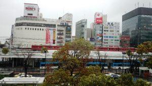 窓からの眺め|Wired Cafe アトレ川崎店