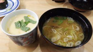 茶碗蒸し&お味噌汁|無添 くら寿司 川崎下平間店