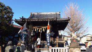 初詣・天満天神社