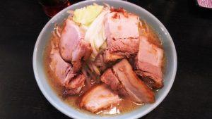 大麺豚W(上から)|らぁめん大山 川崎店