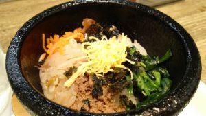 ミニ石焼ピビンパ|オンマーキッチン(ぴょんぴょん舎)ラゾーナ川崎