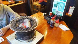 七輪とテーブル|七輪焼肉 安安 鹿島田店