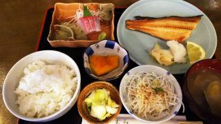 シマホッケ&かんぱち刺身のランチ|井魚家いむら