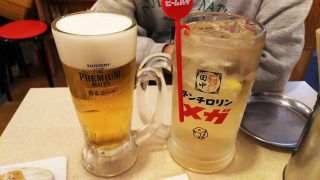ビール&チンチロリンハイボール 串カツ田中
