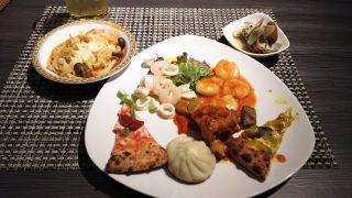 ビュッフェは和洋折衷♪|ホテルオークラ レストラン横浜 サファイア