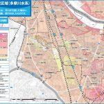 多摩川・鶴見川が氾濫すると...|ハザードマップ