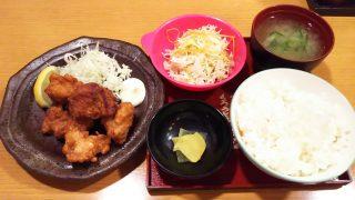 鶏の唐揚げ定食|一軒め酒場 京急川崎店