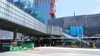川崎駅北口とラゾーナ川崎を結ぶデッキ
