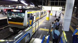JR川崎駅南武線ホーム|中央北改札口側