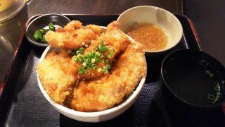 鶏唐揚げ丼|やきとりセンター 川崎リバーク店