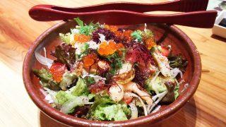 十品目の野菜海鮮サラダ|博多もつ鍋 やまや ウィング川崎店