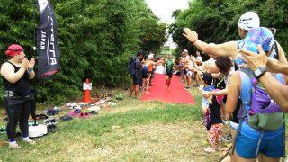 XTERRA川崎:スイムのトップ選手が戻ってきたところ