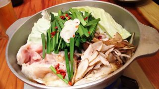 もつ鍋(あごだし醤油)|博多もつ鍋 やまや ウィング川崎店