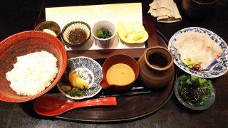 鯛茶漬け膳|日本の旬の味 百膳