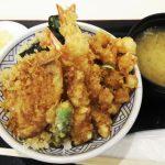 日本橋の行列ができる天丼をラゾーナで♪|金子半之助