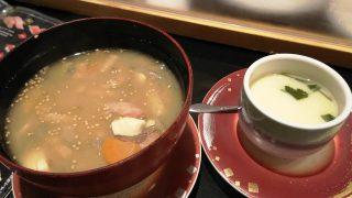 ちゃんこ汁&茶碗蒸し|回し寿司 活 グランデュオ蒲田店