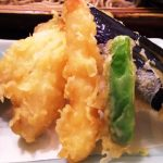 お蕎麦のセットがお得でした 茅ヶ崎 海ぶね アトレ川崎店