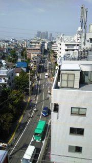 6Fからの眺め|フェスタビル@鹿島田