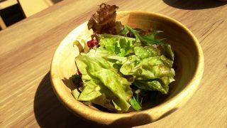 ランチのサラダ|白金魚食堂