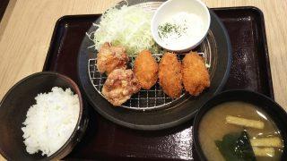 唐揚げ牡蠣定食(大)|とり多津 鹿島田店