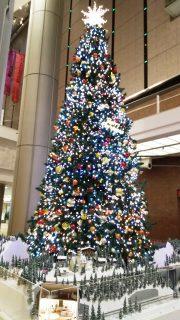 クリスマスツリー ミューザ川崎