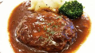 北欧風シチューハンバーグ定食・アップ|松屋