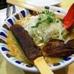 寒い夜には炙り味噌麺|七志 鹿島田店