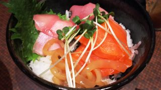 海鮮丼アップ|あしびな~ ミューザ川崎
