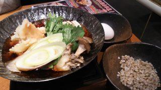 蟹ふんどしのすき焼き|北前そば 高田屋 川崎駅前店