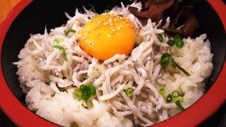 しらす丼アップ|茅ヶ崎海ぶねアトレ川崎店