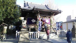 初詣 天満天神社