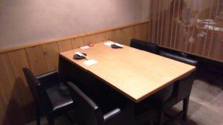 個室のテーブル|酉十郎 川崎店
