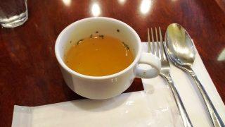 日替わりパスタランチのスープ|川崎壱番館