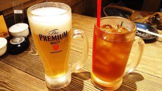 ドリンク(ビール&ウーロン茶)|とりいちず 鶴見東口店
