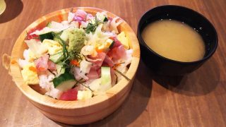 桶盛りチラシ寿司|魚問屋 魚政宗 川崎分店