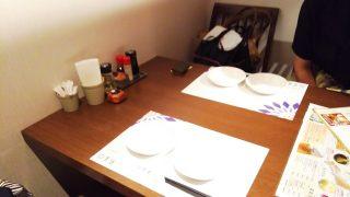 テーブル席 健康中華 青蓮 川崎西口店