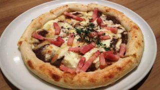 ベーコンときのこデュクセルのピッツァ|ラパウザ アトレ川崎店