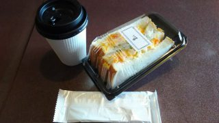 コーヒー+タマゴサンド|Cafe Club Key 鹿島田店