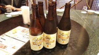円卓&ビール|中華酒家飯店 角鹿
