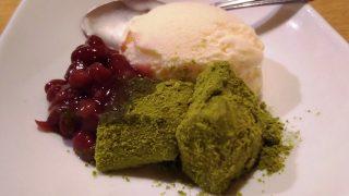 抹茶わらび餅アイス|しゃぶしゃぶ 温野菜