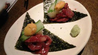 うに×さくら肉寿司|土間土間 武蔵溝の口店