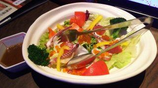 海の恵み彩りサラダ(ハーフサイズ)|北海道 川崎駅前店