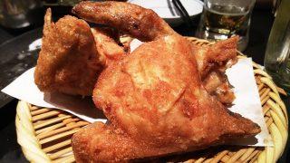 築地鶏藤の丸鶏の素揚げ|全力鶏 武蔵小杉店