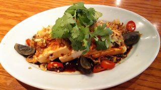 豆腐とザーサイの冷菜|アジアンビストロDai 武蔵小杉店