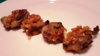 タンドリー砂肝|ガラムマサラ