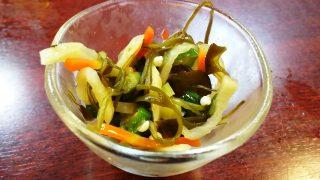 お通し(季節野菜の和え物)|北国炉端 ときしらず 東京駅八重洲